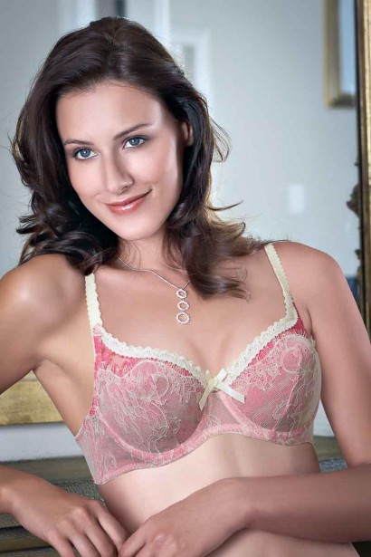 Enamor Net Underwired Bra