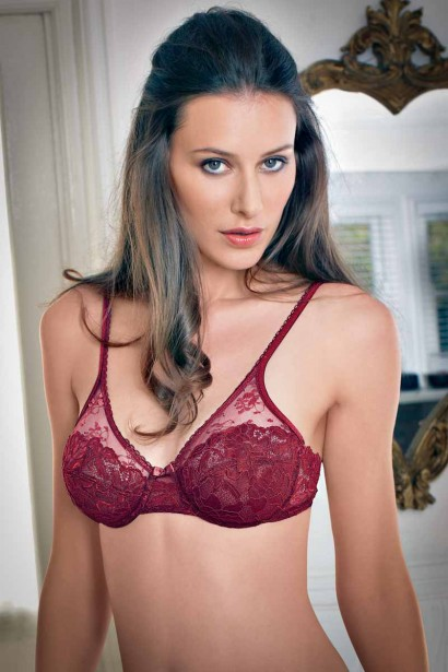 Enamor High Coverage Underwired Lace Bra