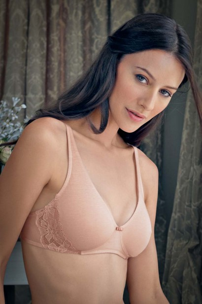 Enamor Double Layered Cotton Bra