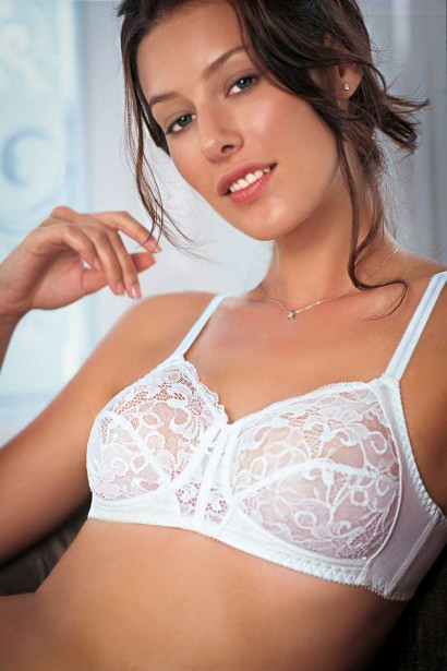Enamor Full Figure Lace Bra