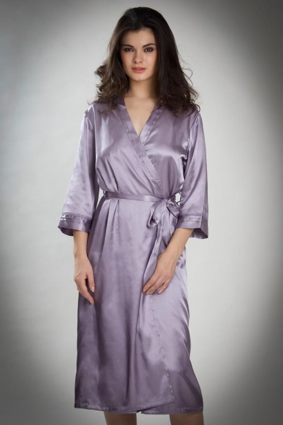 Bw!tch Satin Full Length Robe