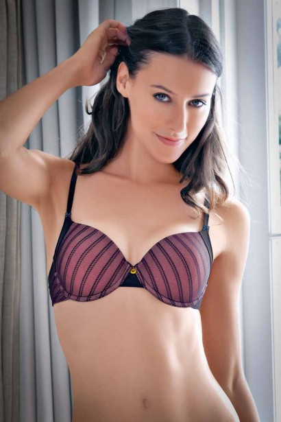 Enamor Jacquard T shirt Bra
