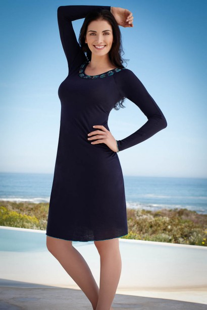 Inaya Full Sleeve Night Dress