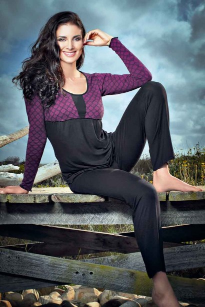 Inaya Purple Passion Top