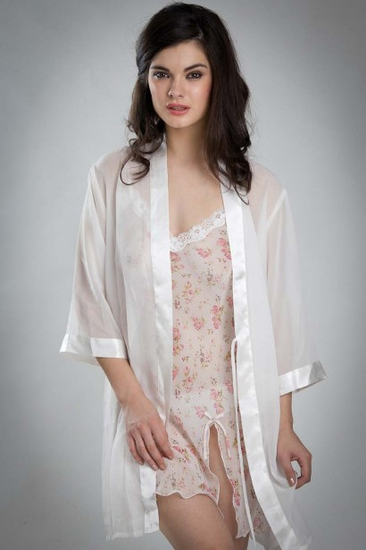 Bwitch Georgette Dressing Gown