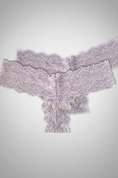 Winter Day Lace Thong Brief